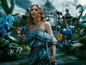 Alice, played by Mia Wasikowska