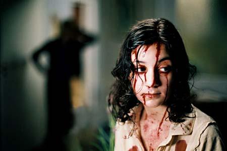 Leandersson as Eli in Låt Den Rätte Komma In (2008)
