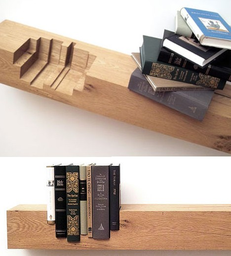 Juxtaposition Bookshelf