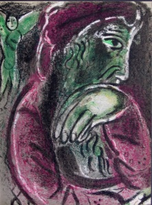 Marc Chagall's 'Job's Despair'