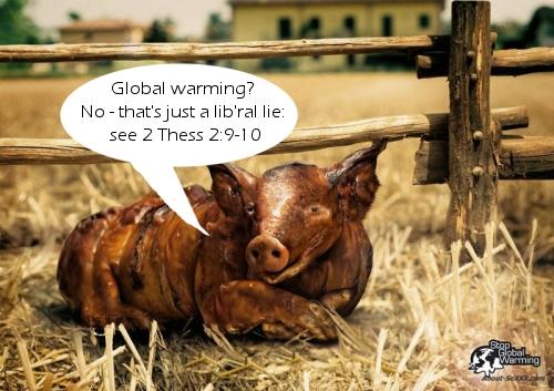 Global Warming Pig