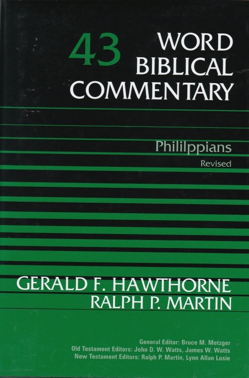 Word Biblical Commentary: Phililppians