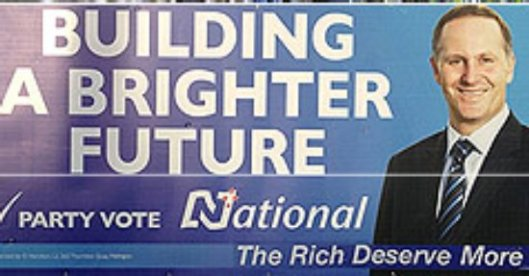National Party Billboard with the truth added